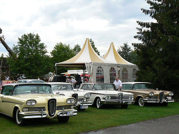 Edsel line-up