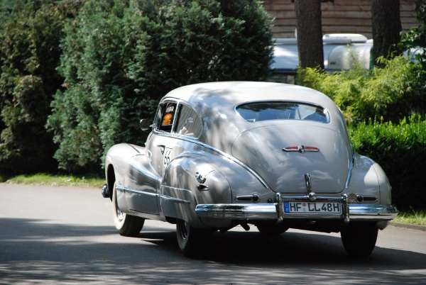 1947 Buick rear view